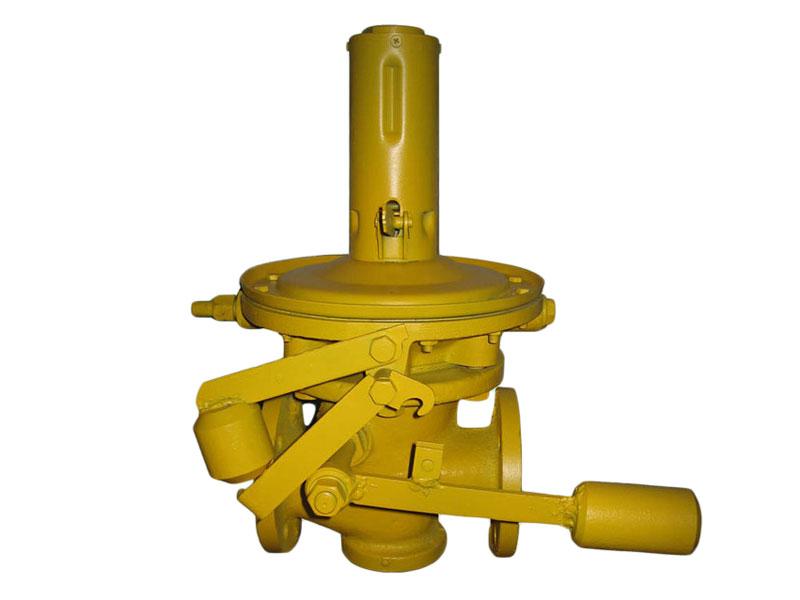 Клапан предохранительно-запорный высокого давления